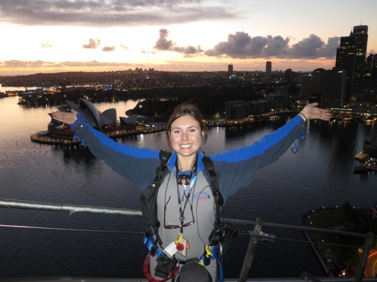 Emily Pressnel, Harbour Bridge Climb