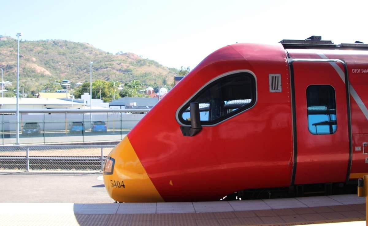 Spirit of Queensland tilt train