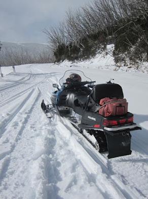 Snowmobile Tour, Falls Creek, Victoria