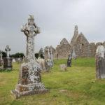 Clonmacnoise ancient monastery in Ireland
