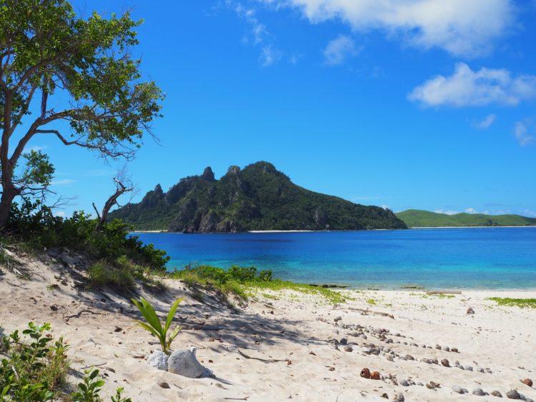 The island the Castaway movie was filmed on, Monuriki island is close to the Castaway Island resort in Fiji